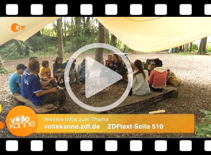 """ZDF Beitrag über das medienfreie Abenteuercamp """"connect"""""""